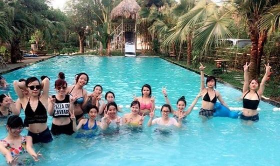bể bơi Zen Resort