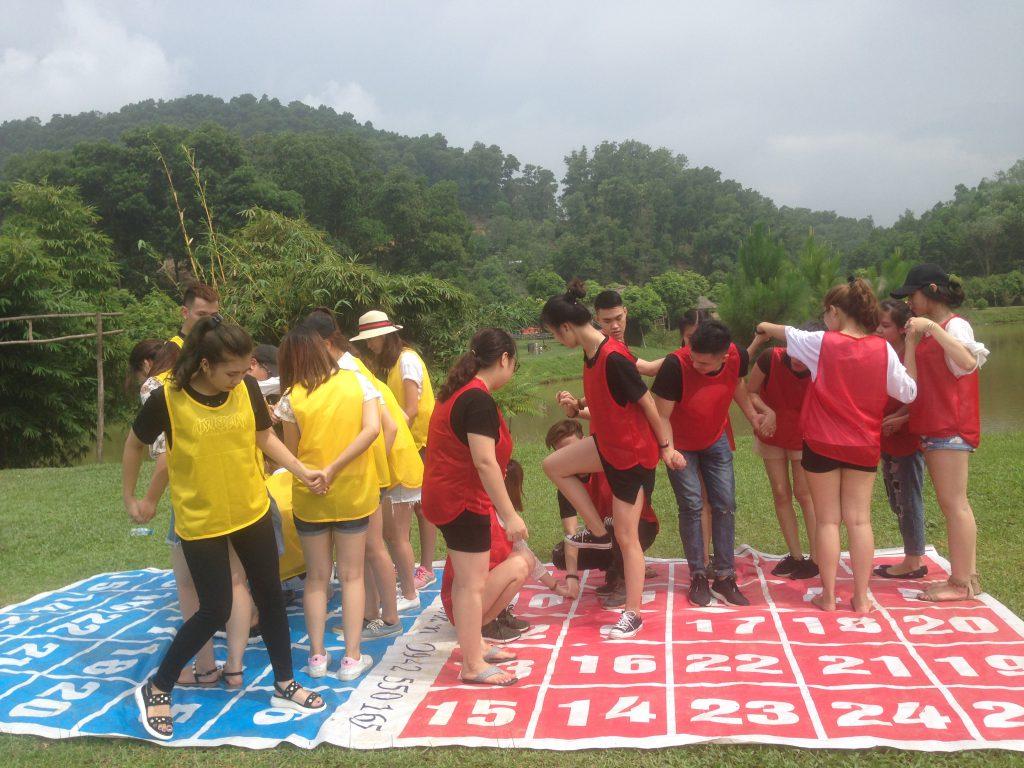 Trò chơi-Những địa điểm tổ chức team building tại Hà Nội