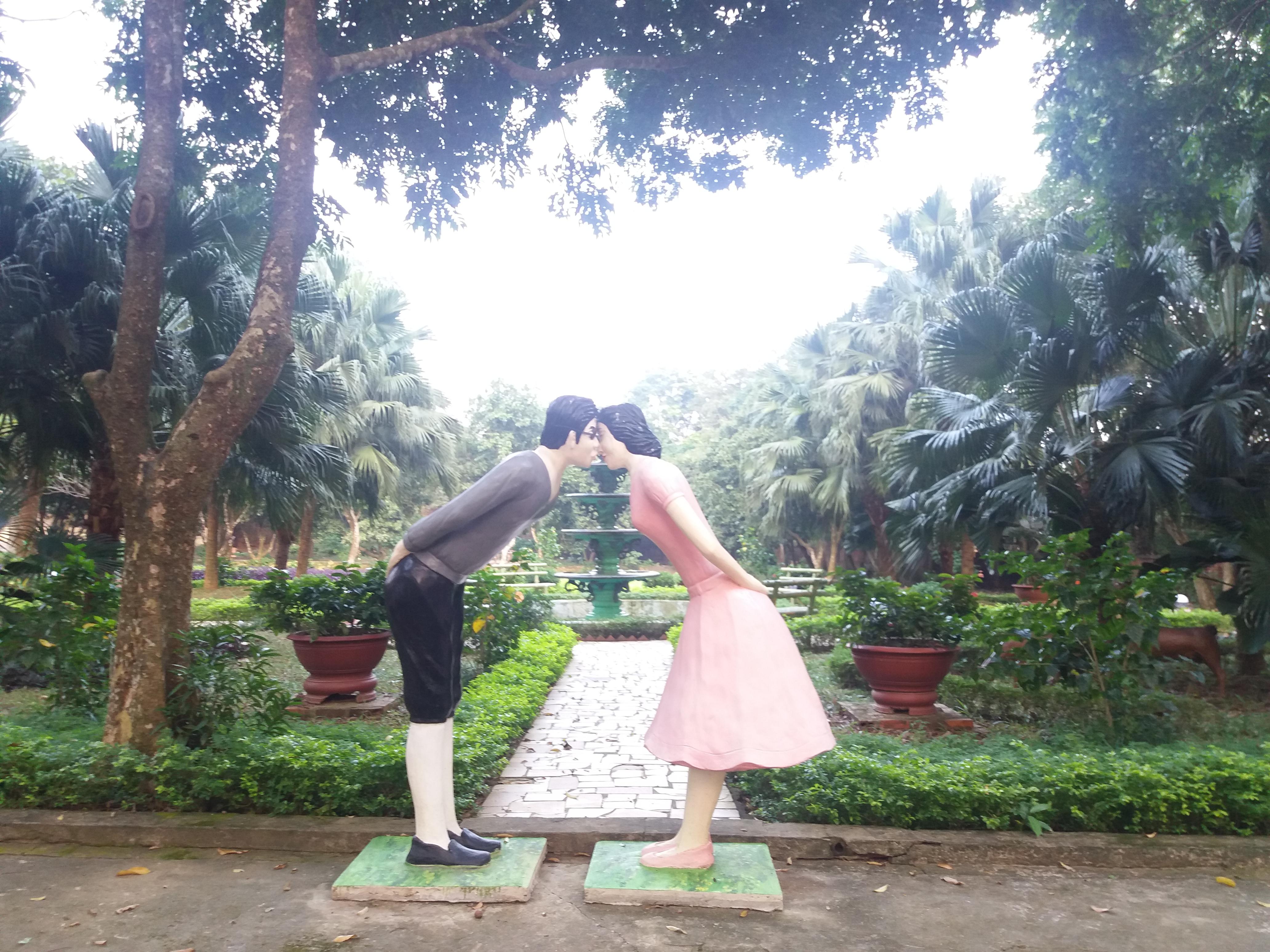 Vườn tình yêu Paragon Resort