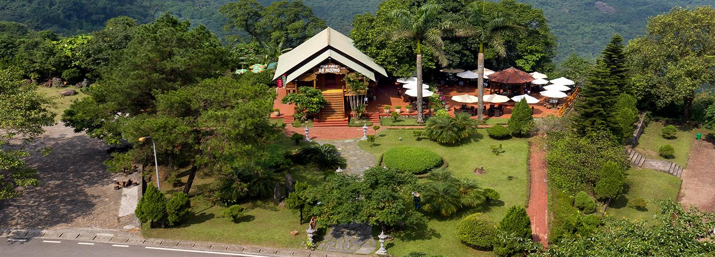 Một góc Ba Vì Resort- Resort Ba Vì giá rẻ