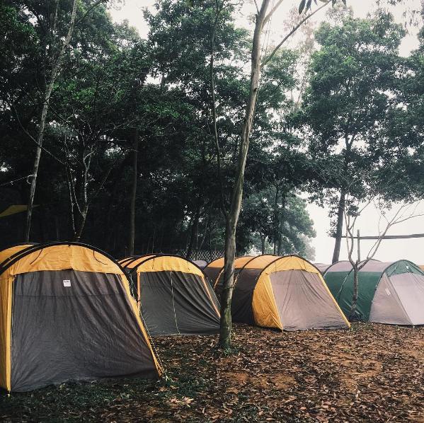 Cắm trại ở Vườn Quốc Gia Ba Vì