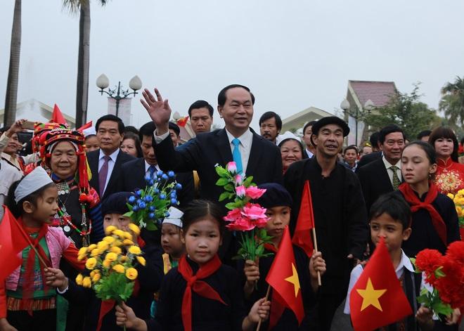 Lễ hội tại Làng văn hóa các dân tộc Việt Nam năm 2018