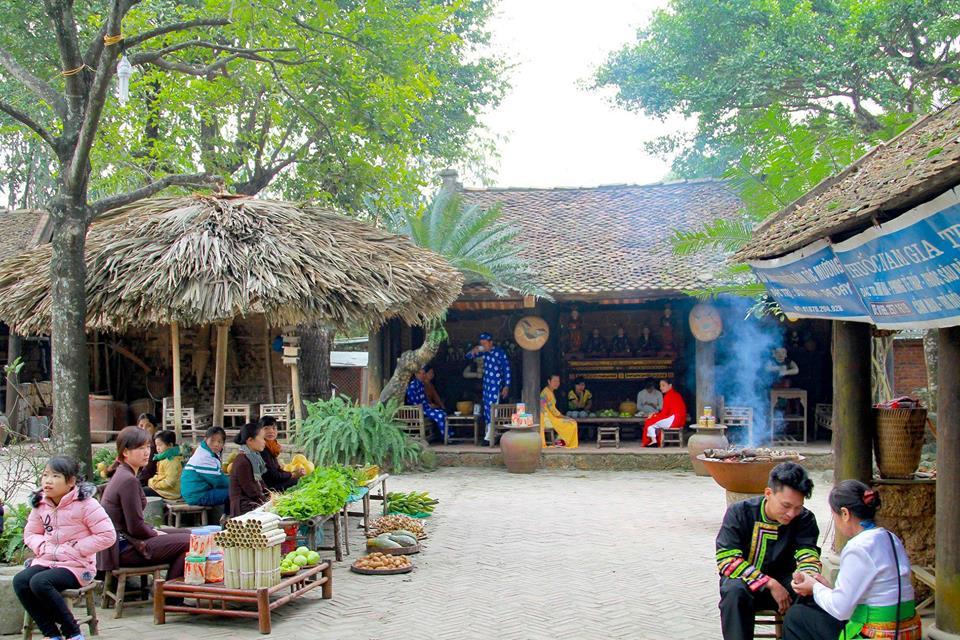 Khu du lịch Long Việt nét đẹp văn hoá dân gian Bắc Bộ