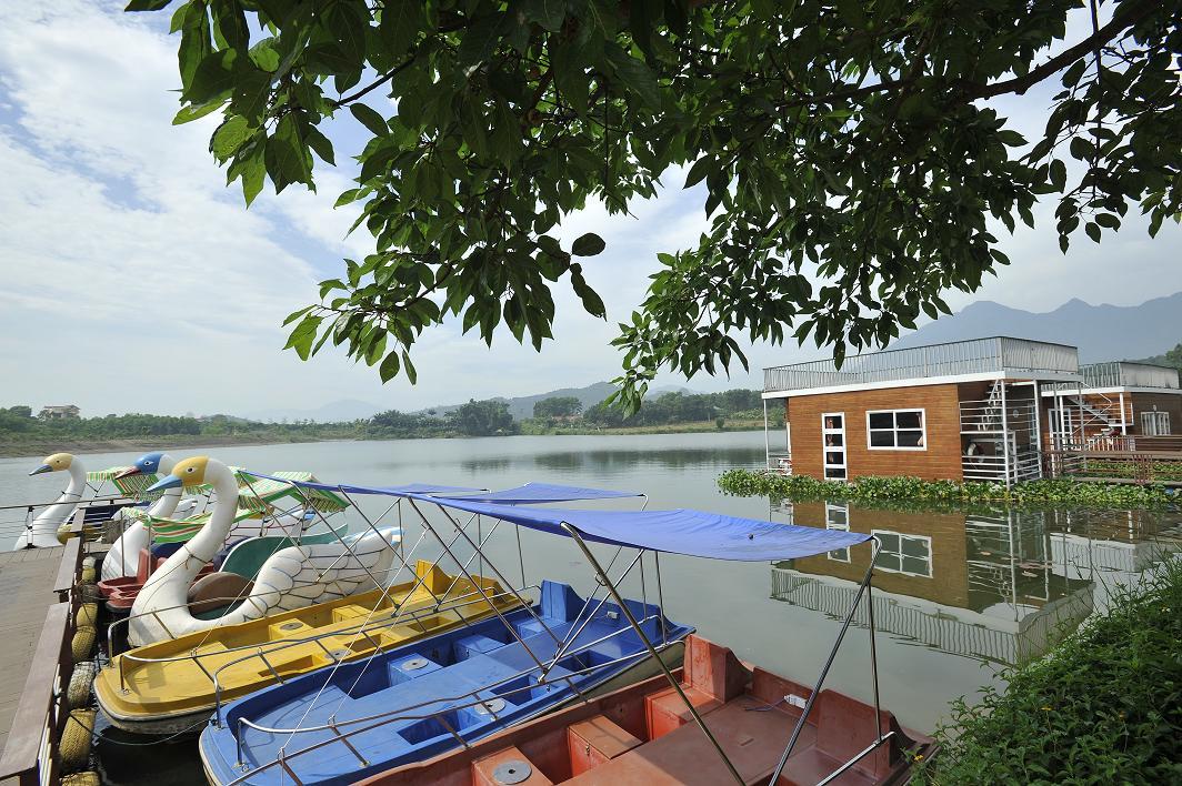 thien-nga-tan-da-resort nước nóng gần Hà Nội